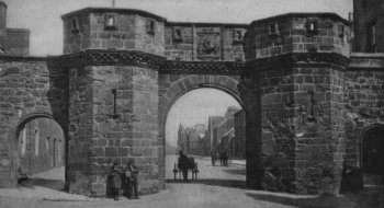 Old Photograph West Port St Andrews Scotland